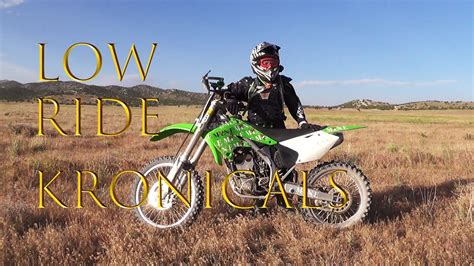 lower dirt bike seat height how to lower a dirt bike the low ride kronicals pt 1