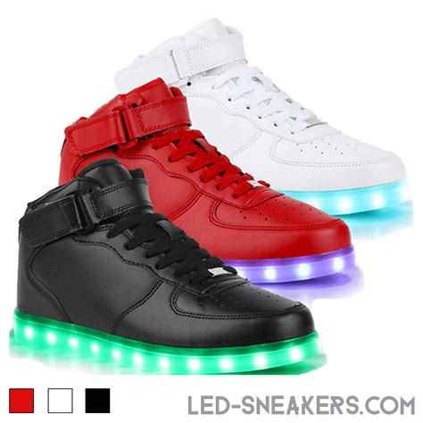Shoes Led led schuhe air 1 led sneakers