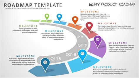 free project roadmap template powerpoint product roadmap powerpoint template templates 20599