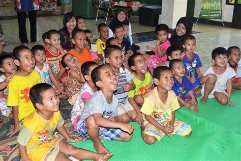 mendirikan yayasan panti asuhan setelah menjalani assessment akhirnya 12 anak eks panti