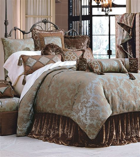 Designer Comforter Sets by Luxury Bedding By Eastern Accents Foscari Duvet
