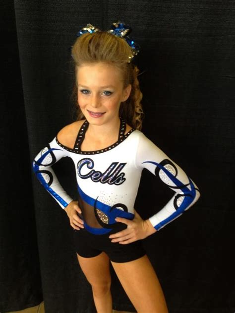 little mary cheer leader in thong maryland twisters cheerleading gk elite cheer all