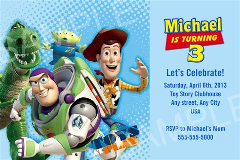 toy story invitation printable toy story birthday