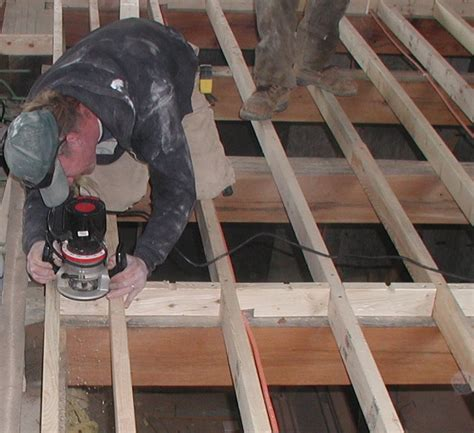 building a timberframe home from scratch radiant tubing under a subfloor