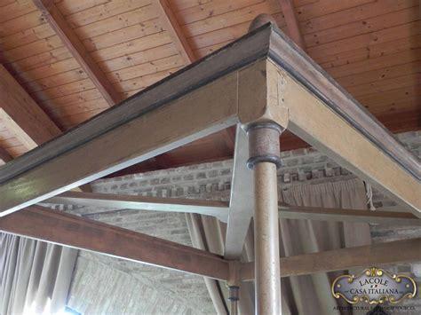 letto a baldacchino legno letto a baldacchino in legno lacole casa italiana