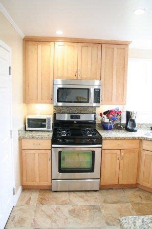 dream kitchen appliances the newly remodeled kitchen with maple cabinets granite