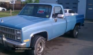 1982 4x4 chevy longbed