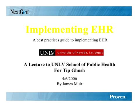 Successful Ehr Implementation Strategy Tips Ehr Powerpoint Templates