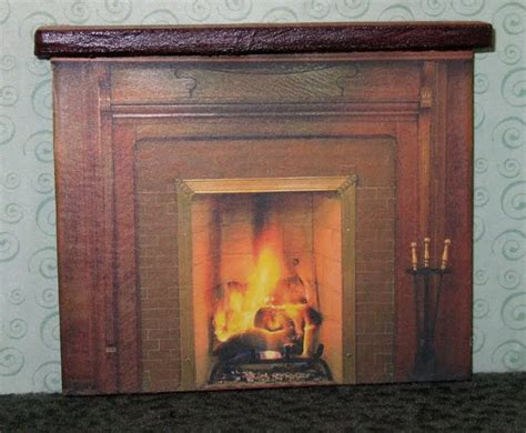 dolls house fireplace dollhouse decorating make your own homemade dollhouse