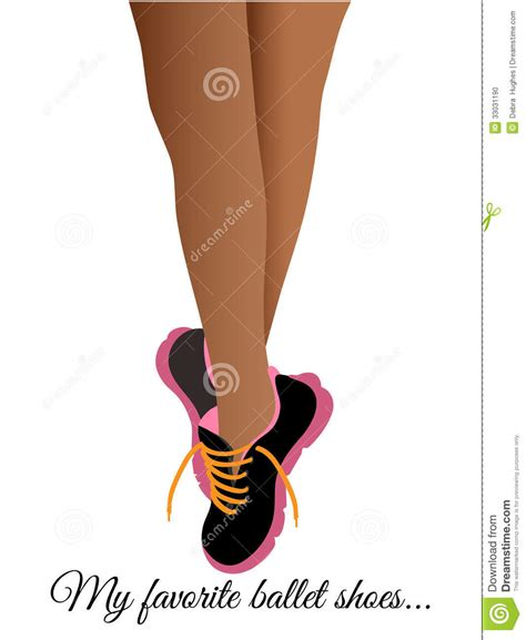ballet runners tennis shoes stock photo image 33031190