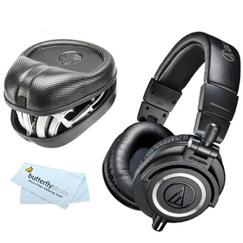 Audio Technica Ath M50x Professional Monitor Headphones Merah best deals on headphones audio technica headphone zone