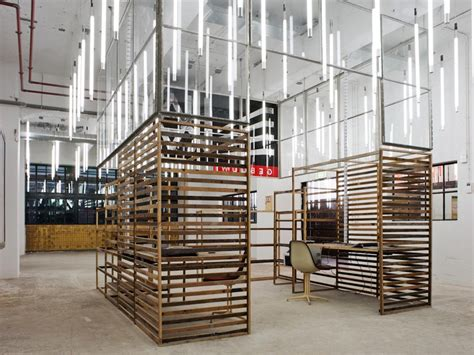 Recycled Materials Interior Design by Pre War Factory Turns Into A Eco Centric