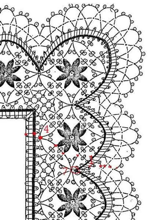 antique pattern library bobbin lace 189 best images about bolillo on pinterest labor
