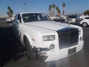 Damaged Rolls Royce For Sale Damaged 2007 Rolls Royce Phantom For Sale In Ca Nuys