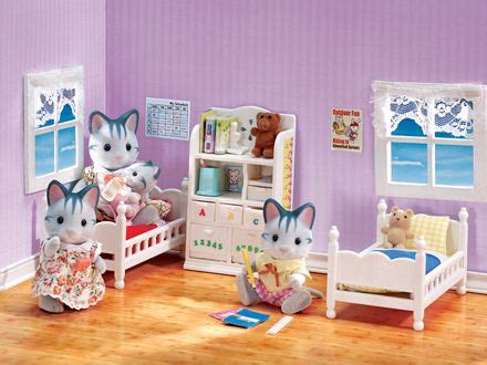 sylvanian childrens bedroom set 630 best images about adorable calico critter stuff on