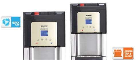 Dispenser Air Sharp jual sharp stand water dispenser swd 75ehl sl murah