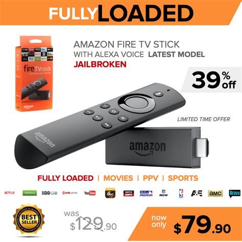 new tv stick model fully loaded jailbroken delivery hiltipro