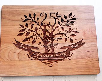 Wedding Anniversary Gifts Usa by Personalized Wedding Anniversary Cake Topper Tree Gift Idea
