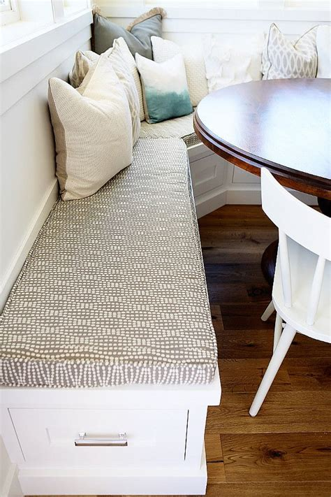 how to make a banquette cushion 25 best ideas about kitchen fabric on pinterest new