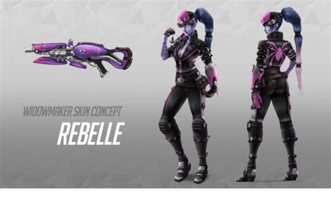 widowmaker skin concept rebellf skin meme on me me