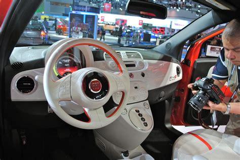 2012 la 2013 fiat 500e interior egmcartech