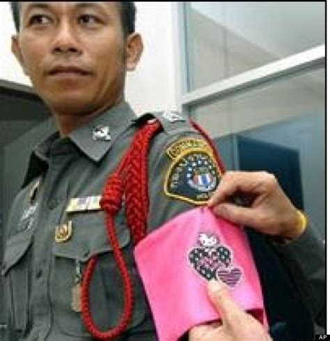 For Bad Cops In Thailand Involves Hello by Thailand Get Hello Armbands As Badge Of Shame