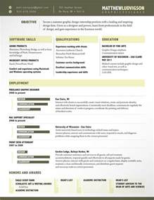 Graphic Design Resume Exles 2012 by 14 Stunning Exles Of Creative Cv Resume Ultralinx