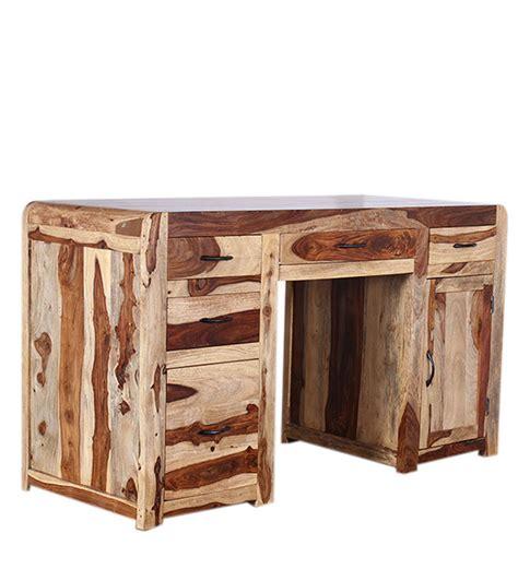 scrivania etnica scrivania etnica porta computer legno massello acacia sd