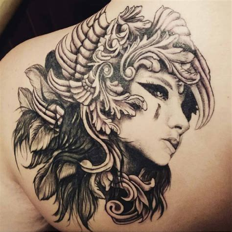 valkyrie tattoo ideas about valkyrie on tattoos viking
