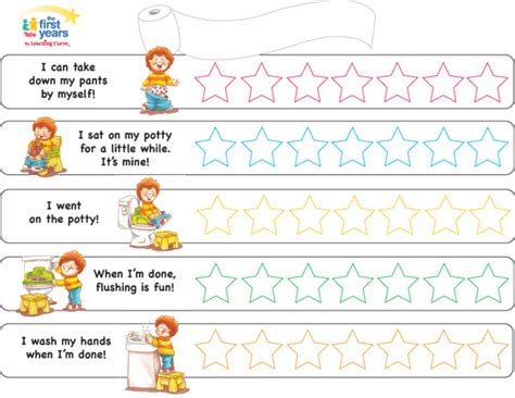 potty training chart mickey mouse the first years potty training chart by learning curve