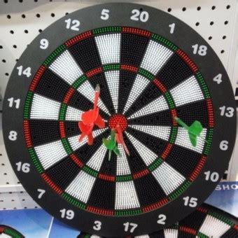 Dart Papan Dart Board 17 Inchi harga spesifikasi dart papan terbaru cek kelebihan