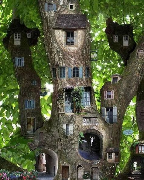 35 Beautiful Tree House Ideas Bored Art