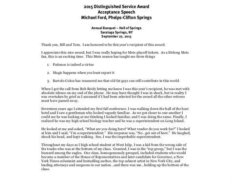 19 Award Speech Exles Sles In Pdf Award Speech Template