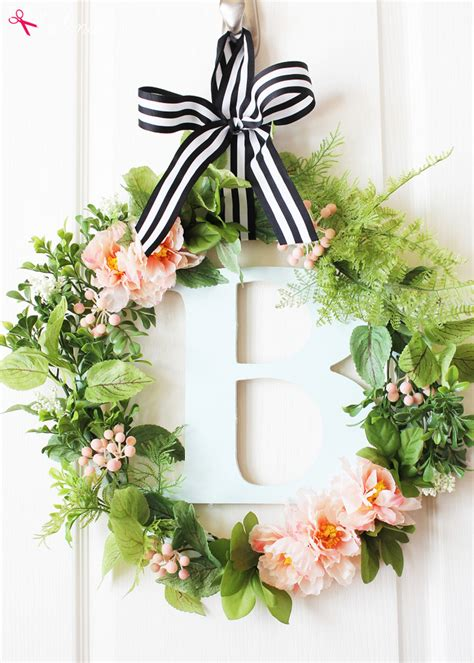 spring wreath diy botanical spring wreath craft tutorial