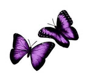Butterfly tattoos pretty and purple add a ribbon to represent