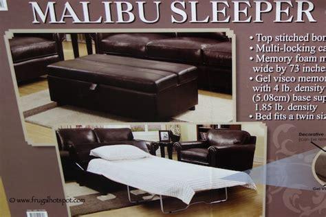 Costco Ottoman Sleeper Costco Synergy Malibu Sleeper Ottoman Frugal Hotspot