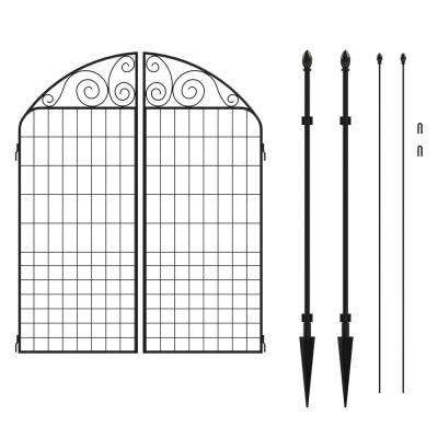 metal garden fencing fencing  home depot