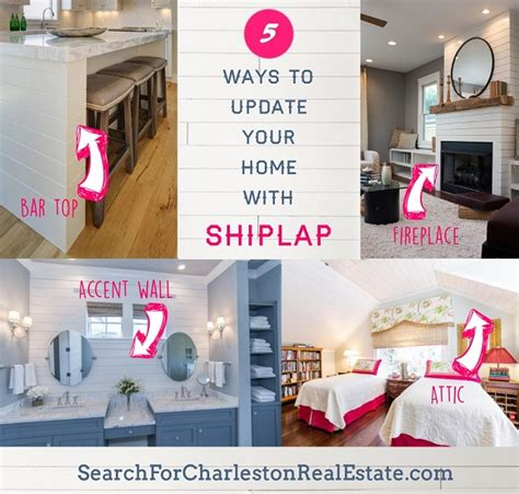 diy home updates 5 ways to update your home with shiplap