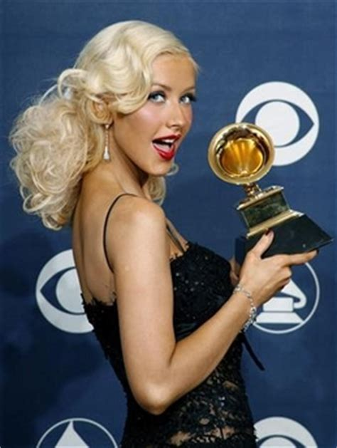 Did Aguilera Go Nuts At The Grammy Awards by Aguilera To Try At Acting