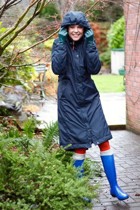 Is It Really Still Raining Wellies For Weather by Welly Weather Wear Cobalt And Orange