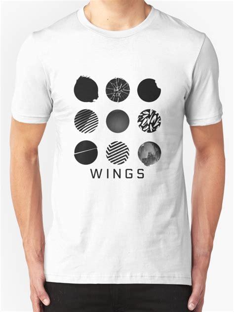 Hoodie Zipper Bts Wings quot bts wings quot t shirts hoodies by minpop redbubble