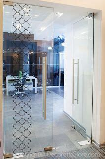 sticker for glass wall 1000 images about door on glass design