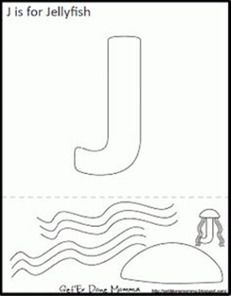 jellyfish template letter j on jellyfish letter j and letter j
