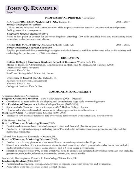 Corporate Resume Samples – Corporate Curriculum Vitae   Resume Template
