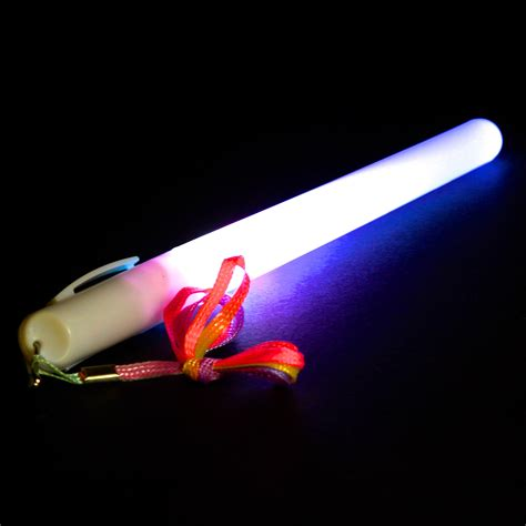Led Glow led glow stick pulsing flasing solid 7 color light stick