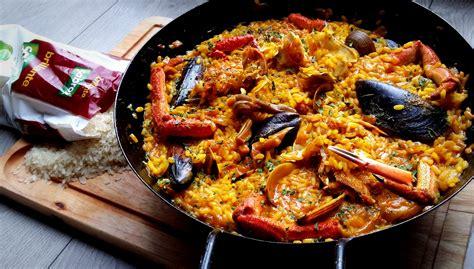 recetas de cocina paella de marisco receta de paella la tradicional de marisco