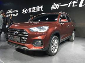 Hyundai Ix35 New Hyundai Ix35 Revealed At Auto Shanghai 2017 Motoroids