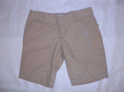 khaki pants for women old navy free shipping on 50 women s old navy khaki lowrise bermuda shorts size 2 4 16