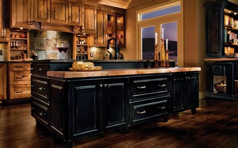 Rustic Black Kitchen Cabinets Rustic Bathroom Rustic Kitchens Barndominiums