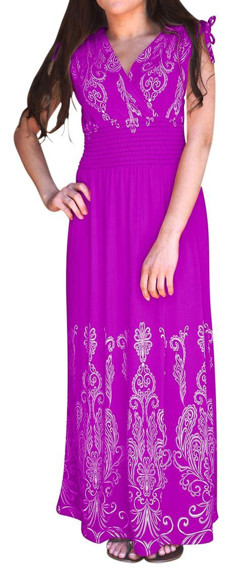 Maxi Leopart Magenta tahiti multicolor border print maxi dress paisley